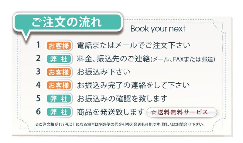 美容室次回の来店予約のカード。ご注文の流れ☆送料無料サービス ☆ご注文額が1万円以上になる場合は宅急便の代金引換え発送も可能です。詳しくはお問合せ下さい。